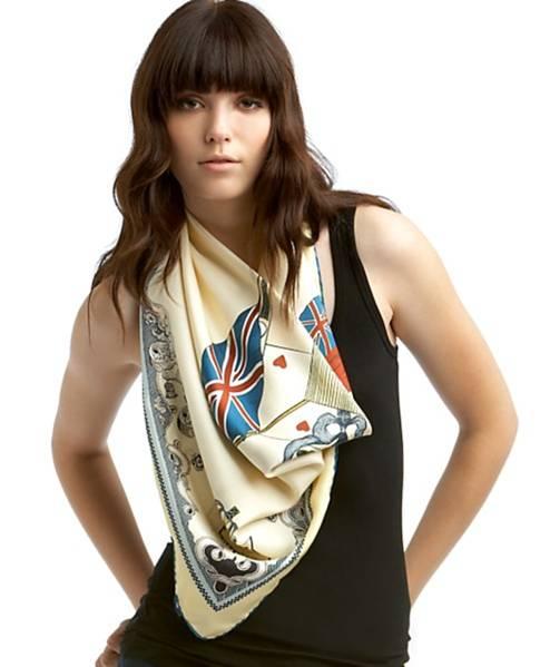 Différents nœuds avec foulards